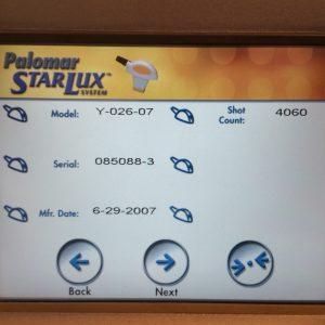 Palomar StarLux LuxY Handpiece