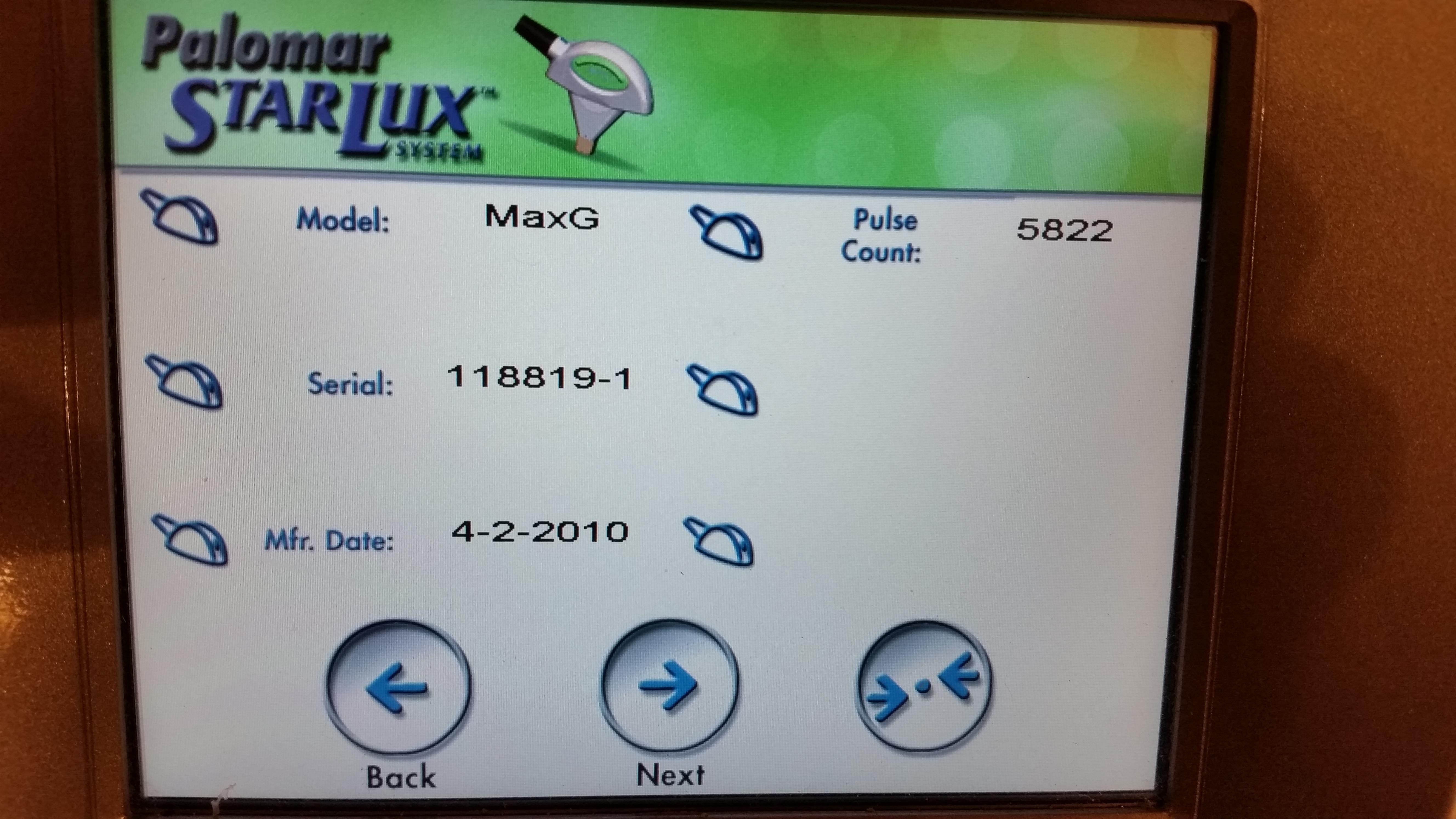 Palomar StarLux MaxG Handpiece (2)